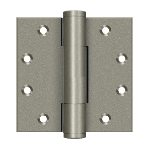 "Deltana DSB45RM 5.1mm Square Hinge - 4 1/2""x 4 1/2"" - Stellar Hardware and Bath"