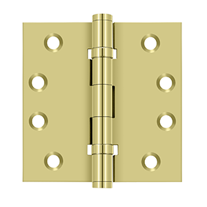 "Deltana DSB4B Square Hinges Ball Bearings - 4""x 4"" - Stellar Hardware and Bath"