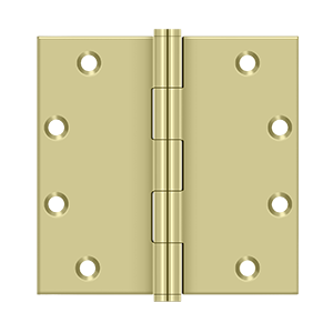 "Deltana DSB55 Square Hinges - 5"" x 5"" - Stellar Hardware and Bath"