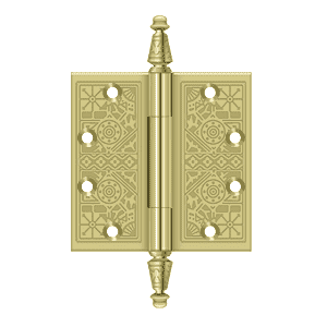 Deltana DSBP45 Ornate Hinge - 4 1/2'' x 4 1/2'' - Stellar Hardware and Bath
