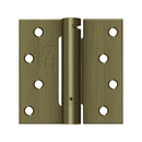 Deltana DSH44 Square Corner Hinge - 4'' x 4'' - Stellar Hardware and Bath