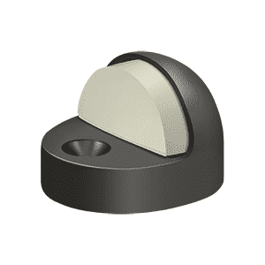 Deltana DSHP916 High Profile Dome Stop - 1 3/8'' - Stellar Hardware and Bath