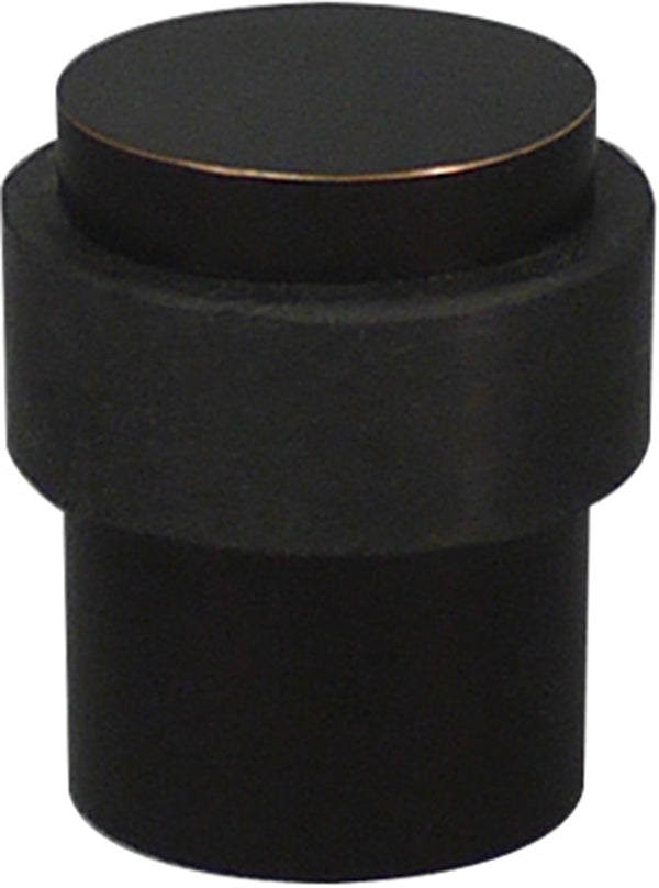 Inox DSIX02-10B Cylindrical Shape Door Stop, Floor Mount, Oil Rubbed Bronze