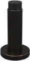 Inox DSIX04-10B Cylindrical Shape Door Stop with Rose, Wall Mount, Oil Rubbed Bronze - Stellar Hardware and Bath