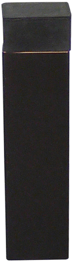 Inox DSIX19-10B Square Shape Door Stop, Wall Mount, Oil Rubbed Bronze