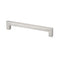 Topex SQUARE STAINLESS STEEL HANDLE 96MM - Stellar Hardware and Bath