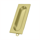Deltana FP222 Flush Pull - 3 1/8'' x 1 3/8'' x 1/2'' - Stellar Hardware and Bath