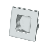 FPS234 Square Heavy Duty Flush Pull - 2 3/4'' x 2 3/4'' x 7/16''