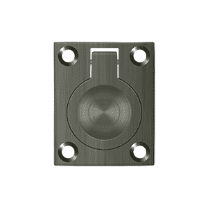 Deltana FRP175 Flush Ring Pull - 1 3/4'' x 1 3/8'' - Stellar Hardware and Bath