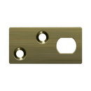 Deltana GP12EFB Guide Plate for EFB Extension Flush Bolt - Stellar Hardware and Bath