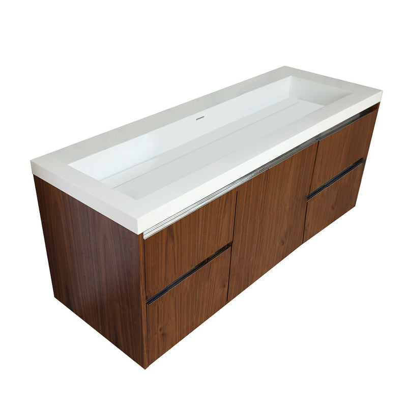 Lacava KUB-W-60B-02 KUBISTA Natural Cherry - Stellar Hardware and Bath
