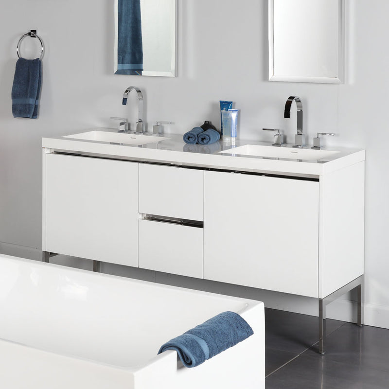 Lacava KUB-W-60-37 KUBISTA Weathered Oak - Stellar Hardware and Bath