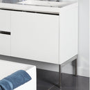 Lacava KUB-LEG-10 KUBISTA Polished Stainless Steel - Stellar Hardware and Bath