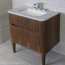 Lacava ELE-W-30-08T1 ELEGANZA White with Fine  Texture - Stellar Hardware and Bath