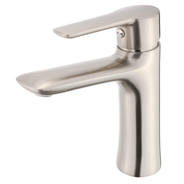 Fine Fixture FAM4 Faucet - Satin Nickel - Stellar Hardware and Bath
