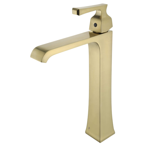 FAV5 Faucet - PVD Satin Brass - Stellar Hardware and Bath
