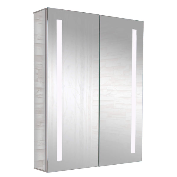 Fine Fixture Aluminum Cabinets - LED Strips - Stellar Hardware and Bath