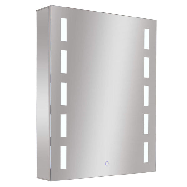 Fine Fixture Aluminum Cabinets - Rectangular LED - Stellar Hardware and Bath