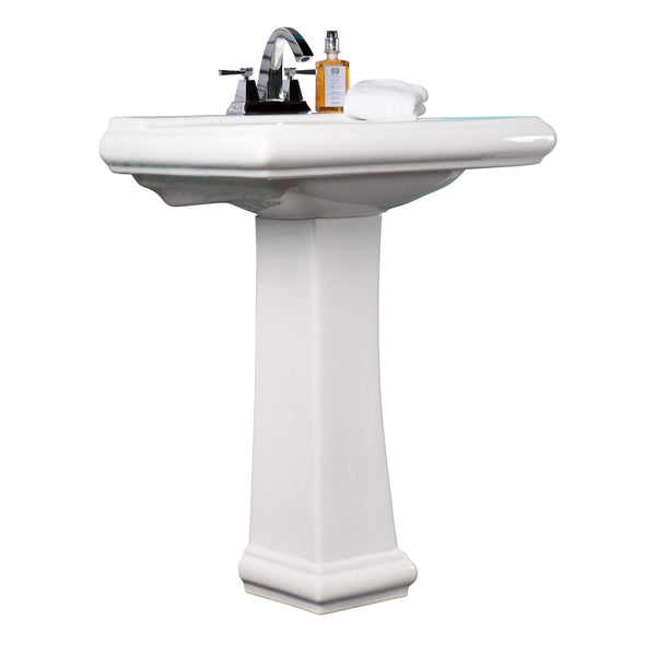 Ashfield Pedestal - Stellar Hardware and Bath