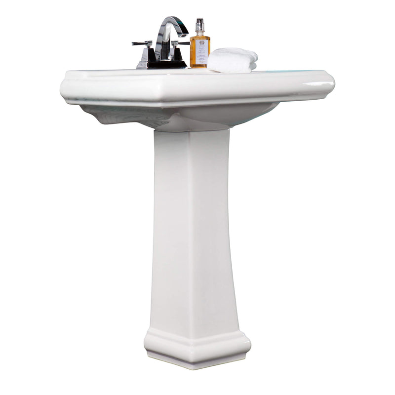 Fine Fixture Ashfield Pedestal - Stellar Hardware and Bath