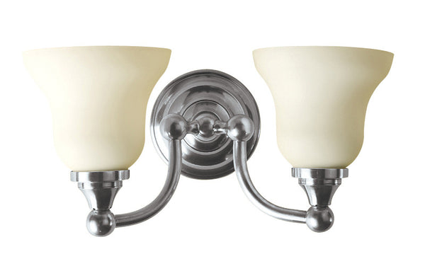 Valsan Kingston Chrome Double Wall Light