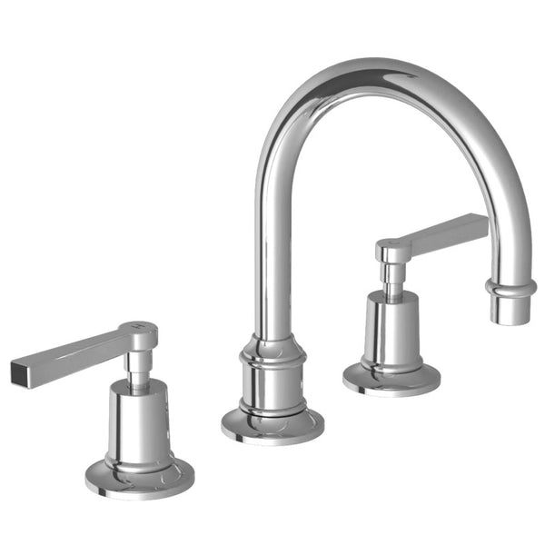 Lefroy Brooks M1-1121 Mackintosh Lever  3 Hole Tubular Basin Mixer - Stellar Hardware and Bath