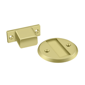 "Deltana MDHF25 Magnetic Door Holder Flush 2.5"" Diameter - Stellar Hardware and Bath"