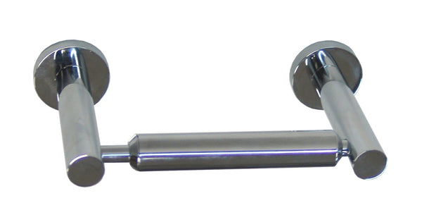 Valsan Montana Chrome Double Post Roll Holder - Stellar Hardware and Bath