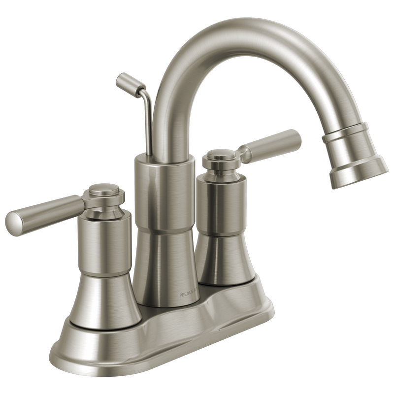 Peerless P2523LF  Westchester: Two-Handle Centerset Bathroom Faucet - Stellar Hardware and Bath