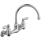 Peerless P299305LF  Claymore: Two Handle Wall Mounted Kitchen Faucet - Stellar Hardware and Bath