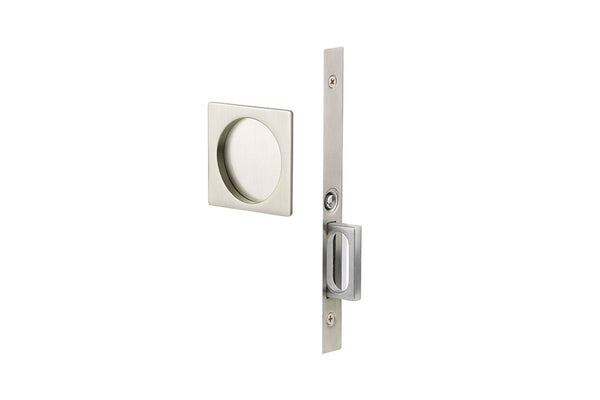 Emtek 2185 Privacy Function Pocket Door Mortise - Square