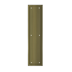 "Deltana PP2280 Framed Push Plate, HD, 3 1/2""x 15"""