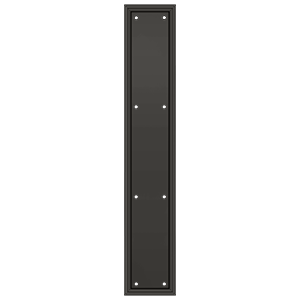 "Deltana PP2281 Framed Push Plate, HD, 3 1/2""x 20"""