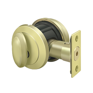Deltana PRDRS Solid Brass Port Royal Deadbolt Lock Grade 2
