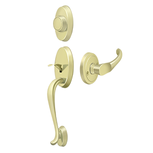 Deltana PRRHDCH Riversdale Handleset with Chapelton Lever Dummy - Stellar Hardware and Bath