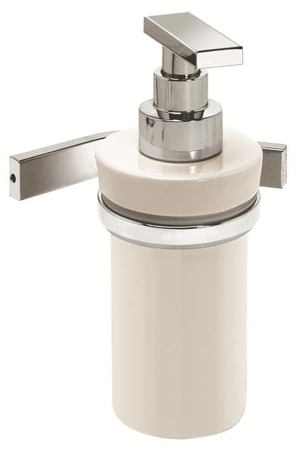 Valsan Sensis Chrome Liquid Soap Dispenser, 6 oz - Stellar Hardware and Bath