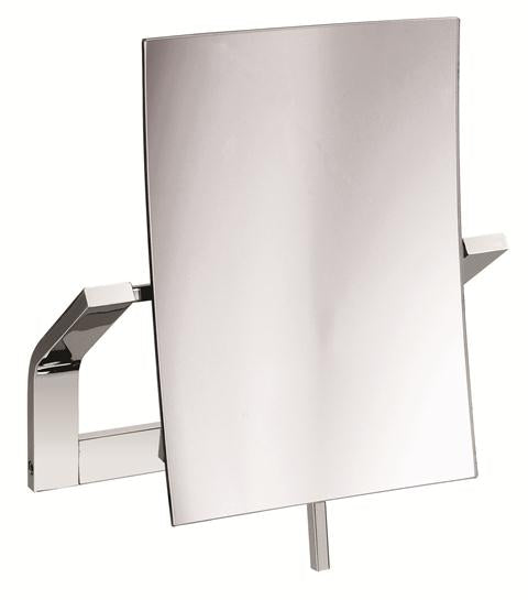 Valsan Sensis Chrome Wall Mounted x3 Magnifying Mirror - Stellar Hardware and Bath