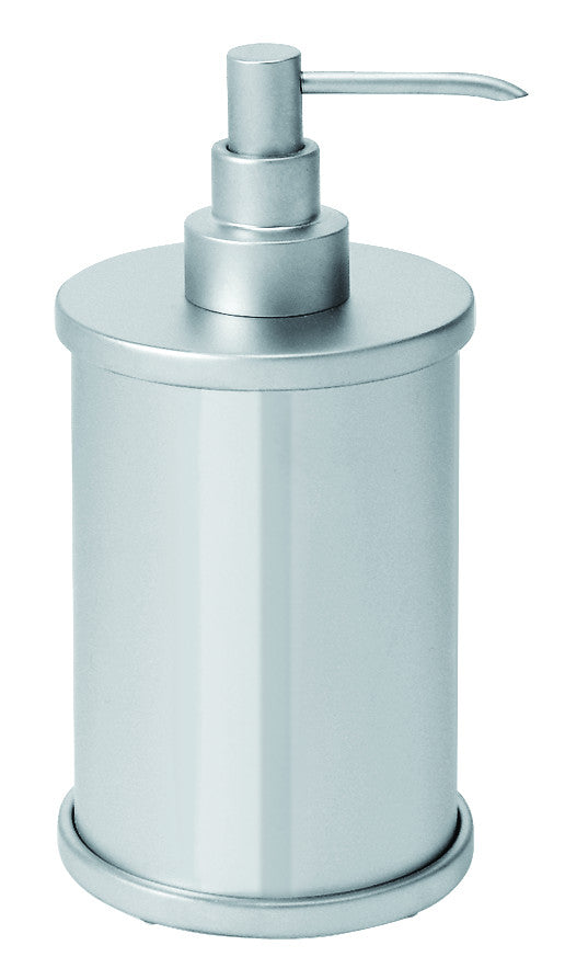 Valsan Scirocco Chrome Freestanding Liquid Soap Dispenser, 12 oz - Stellar Hardware and Bath