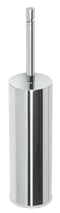 Valsan Axis Chrome Freestanding Toilet Brush Holder - Stellar Hardware and Bath