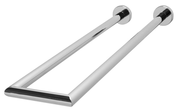 Valsan Axis Chrome Double Perpendicular Towel Rail