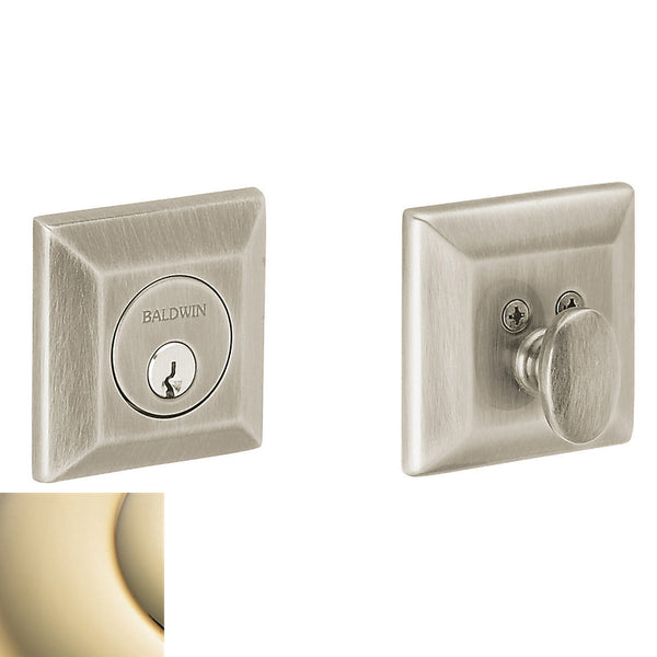 Baldwin 8254 CONTEMPORARY DEADBOLT - Stellar Hardware and Bath