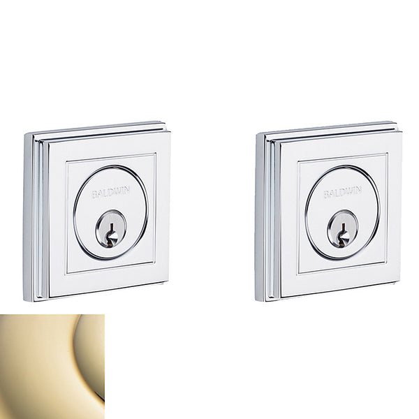 Baldwin 8261 CONTEMPORARY DEADBOLT - Stellar Hardware and Bath