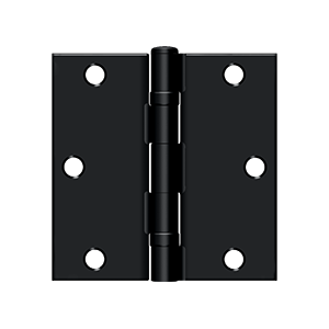 "Deltana S35BB-R Square Hinge Ball Bearing  - 3-1/2""x3-1/2"""