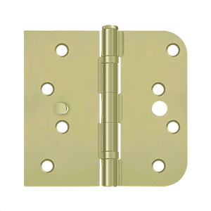 Deltana S41-4058BR-S Ball Bearing Special Hinge for Fiber Glass Doors - 4'' x 4 1/4'' x 5/8'' - Stellar Hardware and Bath
