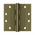 Deltana S45 Heavy Duty Square Corner Hinge - 4 1/2'' x 4 1/2'' - Stellar Hardware and Bath