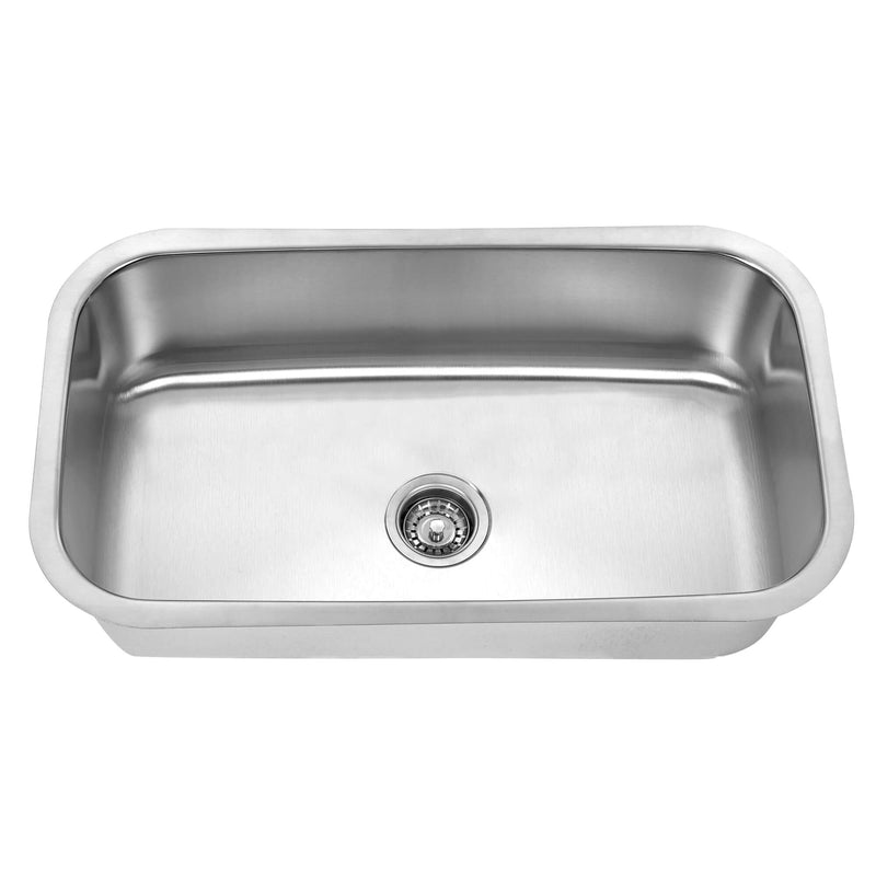Fine Fixture Single Bowl - S606 - Stellar Hardware and Bath