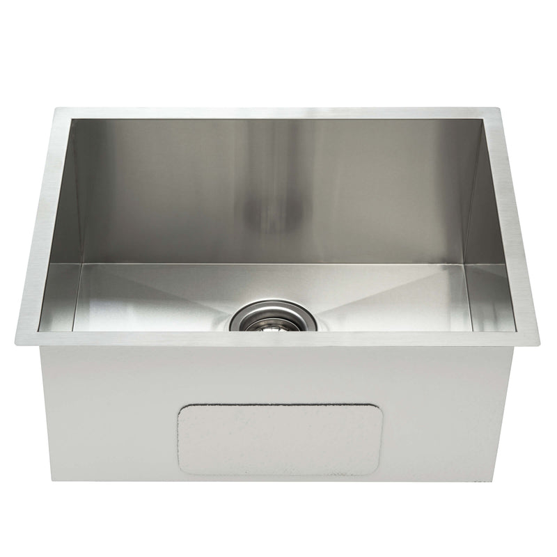 Fine Fixture Undermount single bowl - Square Edges: S702 - Stellar Hardware and Bath
