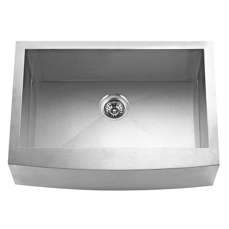 Fine Fixture Single Bowl - S804 - Stellar Hardware and Bath