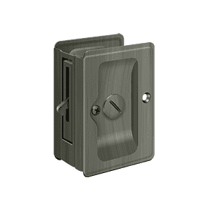 Deltana SDLA325 Heavy Duty Adjustable Pocket Lock Privacy - 3 1/4'' x 2 1/4'' - Stellar Hardware and Bath