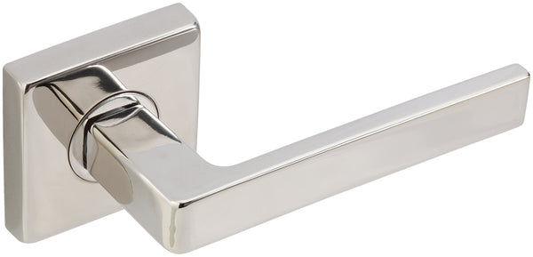 "Inox SE345L472-32 SE345 Tokyo Lever, Tubular Privacy, 2-3/4"" Backset, Polished Stainless Steel - Stellar Hardware and Bath"